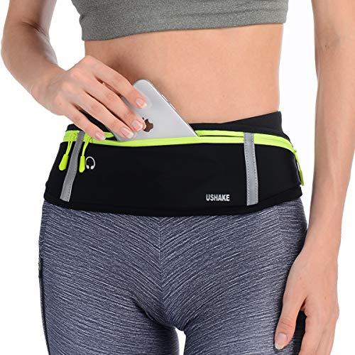 USHAKE Slim Running Belt