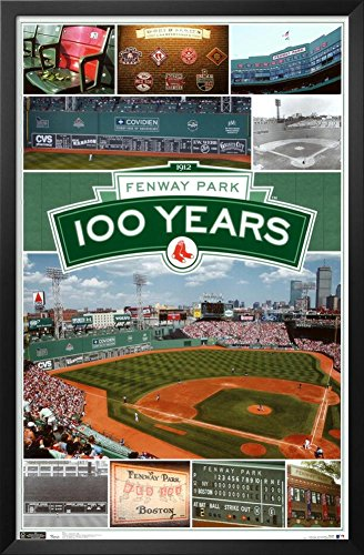 Red Sox - Fenway 100th Framed Poster
