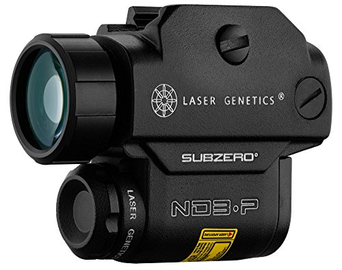 LASER GENETICS ND-3P SUBZERO DESIGNATOR ILLUMINATOR LIGHT GREEN SPOT MOUNT