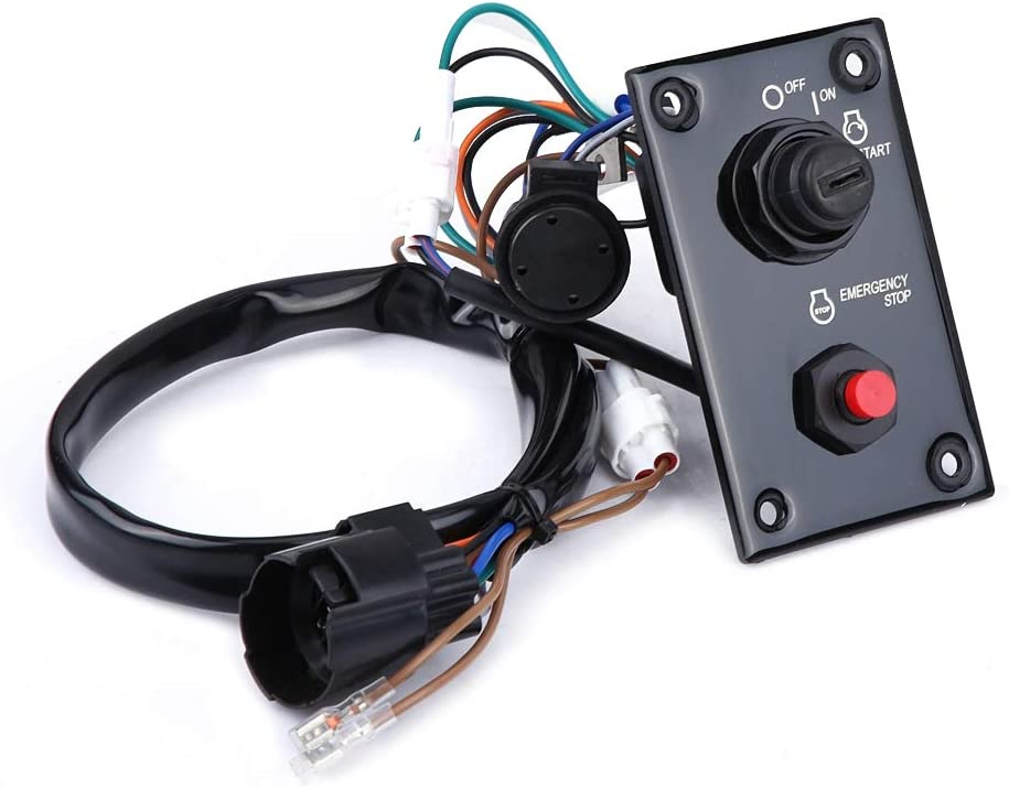 Single Engine Ignition Key Switch Panel Switch Assembly for Suzuki 37100-96j14 Engine Switch Panel