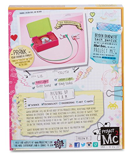 Compra Project Mc2 Lie Detector en Usame