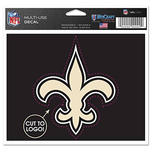 NEW Orleans Saints - Decal- Multi-use 6x4.5 Inches-4x3.5 Logo Nfl-licensed New