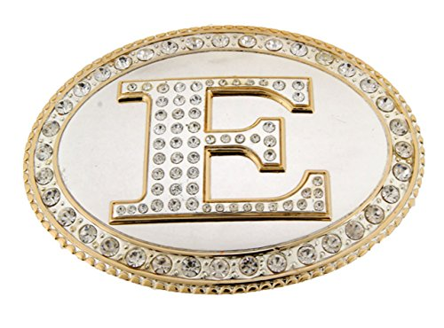 Bling Belt Gold Buckle (Initial Letters