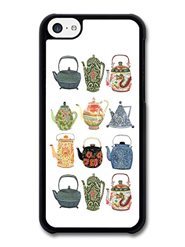 Teapots Green Tea Vintage Minimalist Design case for iPhone 5C