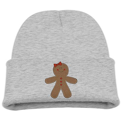 (Yimo Gingerbread Woman Clipart Kids Casual Beanies)