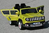 New 2015 Jeep Renegade Style 12v Kids Ride on Power Wheels Battery Remote Control Toy Car - Green