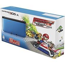 Nintendo Blue Black Nintendo 3DS XL w/Mario Kart