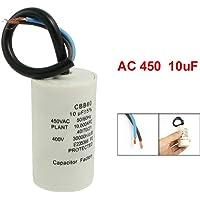 TOOGOO(R) Condensador de funcionamiento del motor CBB60 10uF