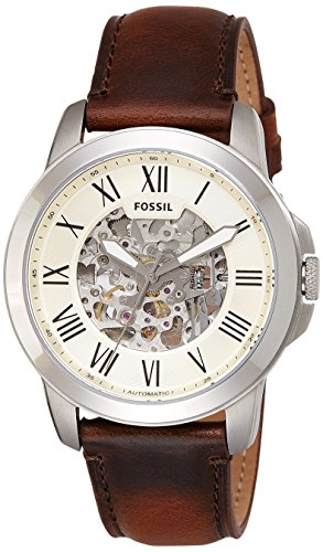 Fossil Men's ME3099 Self-Wind Stainless Steel Watch with Brown (Dial Fossil Watch)