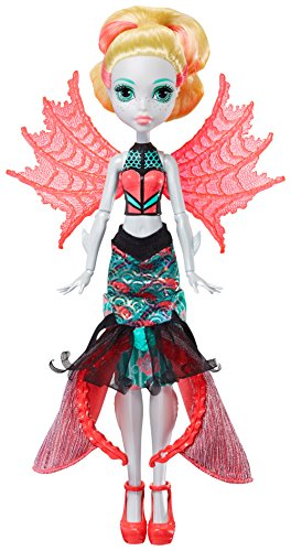 Monster High Ghoul to Mermaid Lagoona Blue Transformation Do