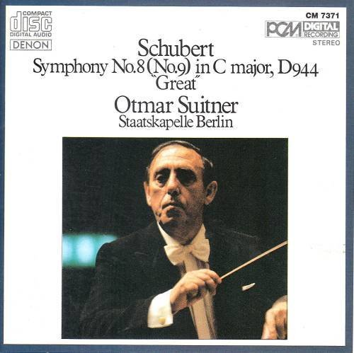 Schubert: Symphony No. 8 / No. 9 in C Major, D. 944- Great