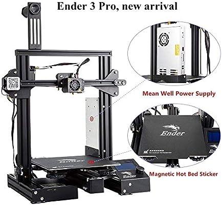 Creality Ender 3 Pro Impresora 3D con Placa de Superficie de ...