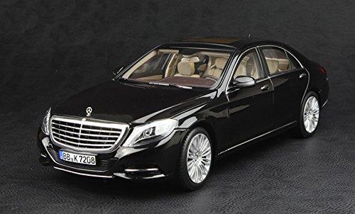 Norev Mercedes Benz S Class Sedan (W222) Black Diecast Model Car 1/18 ,#G14E6GE4R-GE (Sedan Diecast Model)