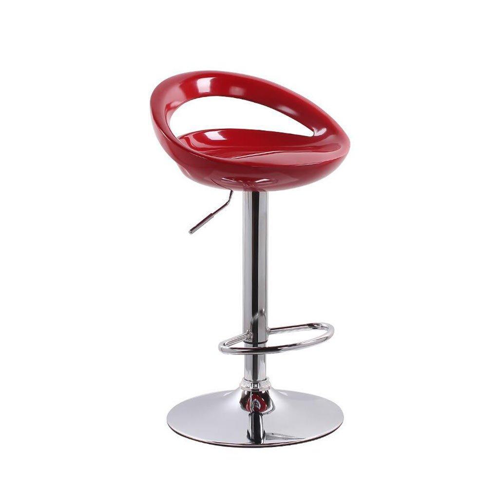 XUEPING バースツール/チェア カウンターチェア 360度回転 リフト 事務用椅子 キッチン レストラン バースツール/チェア ハイバックシングル/ダブル 美容椅子 5色 (色 : A) B07FKWKR2M A A