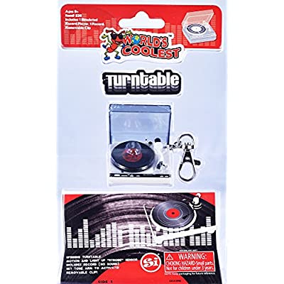 World's Smallest World's Coolest Turntable: Worlds Coolest: Toys & Games