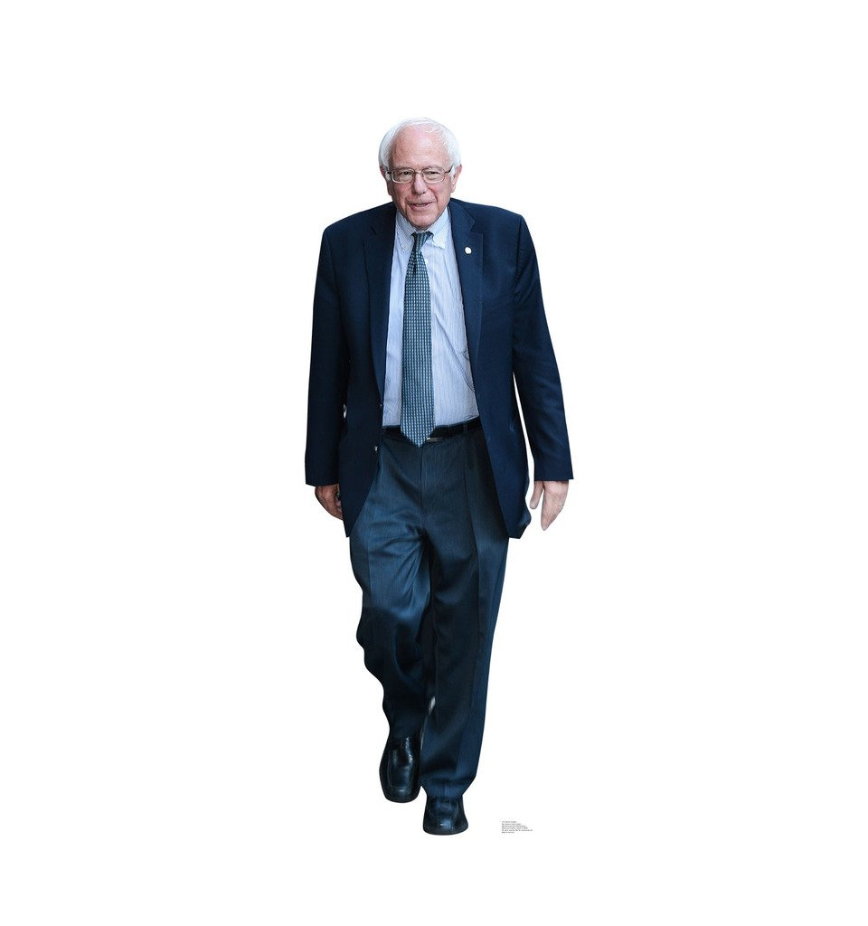 Bernie Sanders - Advanced Graphics Life Size Cardboard Standup by Advanced Graphics