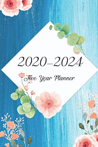 2020-2024 Five Year Planner: Bluesky Oilcolor Cover, Monthly Schedule Organizer, 60 Month Calendar Planner Agenda with Holidays Pocket Size by Joni Stallworth