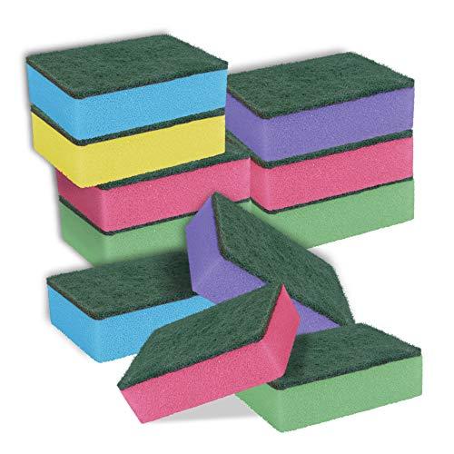 York Prestige schuurspons Welle 4+1 stuks Gratis, groen, standaard, 30