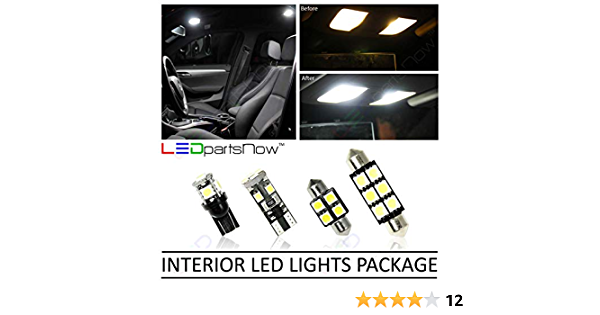 LED Map Dome Interior Lights Replacement Fits 2015 MAZDA 3 HATCHBACK 6 Bulbs