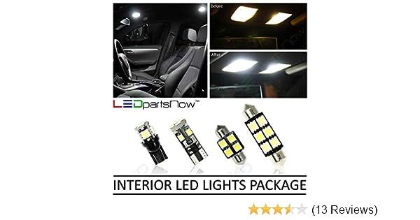 Amazon.com: LEDpartsNow Toyota Tacoma 2005-2015 White LED Package Kit - Interior + Tag + Reverse (9 Bulbs): Automotive
