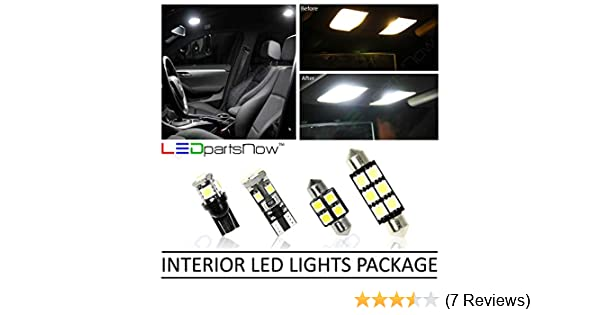 Amazon.com: LEDpartsNow Interior LED Lights Replacement for 2005-2018 Nissan Frontier Truck Accessories Package Kit (5 Bulbs), WHITE: Automotive