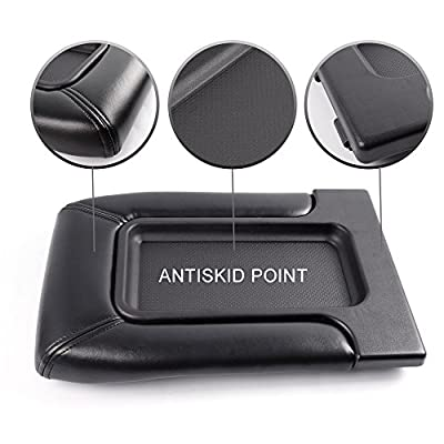 CHEDA 1PCS Center Console Lid Armrest Repair Kit Black for 1999-2007 Chevrolet Silverado Avalanche Suburban GMC Sierra Yukon Cadillac Escalade Replaces#924-811,19127364,19127365,19127366,924-812: Automotive