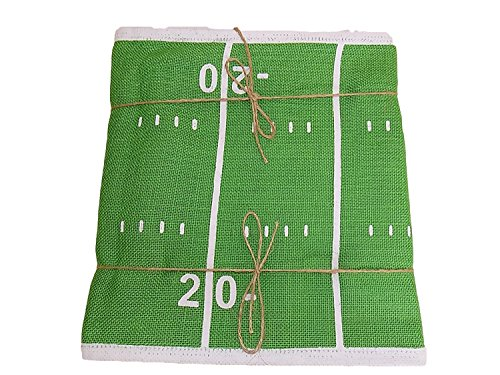Football Field Burlap Jute 96
