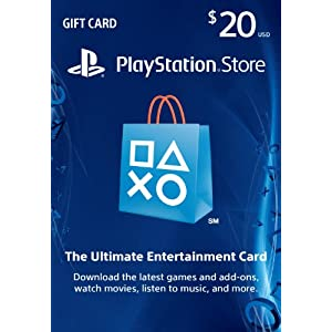 Ratings and reviews for $20 PlayStation Store Gift Card - PS3/ PS4/ PS Vita [Digital Code]
