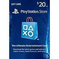 $20 PlayStation Store Gift Card - PS3/ PS4/ PS Vita...