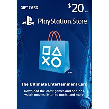$20 PlayStation Store Gift Card - PS3/ PS4/ PS Vita [Digital Code]