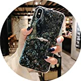 Soft TPU Glitter Phone Case for iPhone 7 8 Dream Shell Pattern Cases