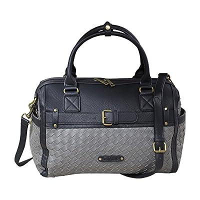 InterestPrint Weekender Bag Overnight Carry-on Tote Duffel Bag Cherry Tree Pattern