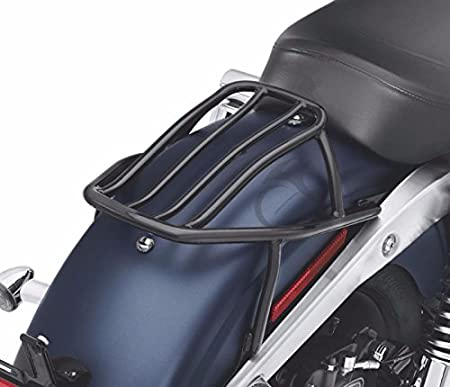 Green-L Chrome Solo Luggage Rack Fit For Harley Dyna Street Bob Super Wide Glide 2006-2017 2016 2015 2014 2013 2012 2011 2010