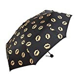 BiuTeFang Umbrellas Sun protection umbrellas UV protection umbrellas gold plastic sun umbrellas umbrellas folding umbrella