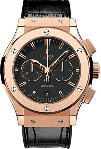 (Hublot Classic Fusion 18ct Rose Gold 42mm Mens Watch 541.OX.1180.LR)