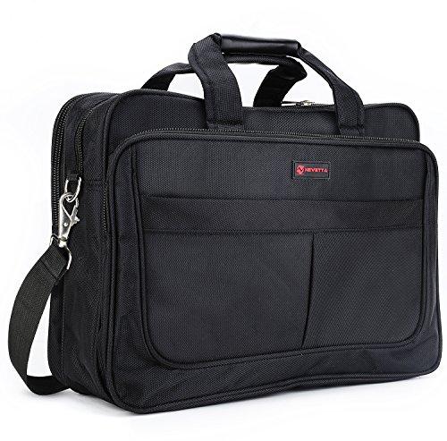 Nevetta Laptop And Tablet Messenger Nylon Bag 15.6 Inch - Black