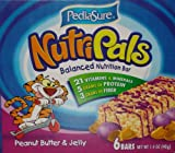 Pediasure Nutripals Bar, Peanut Butter and Jelly, 1.4 Ounces (Pack of 36)