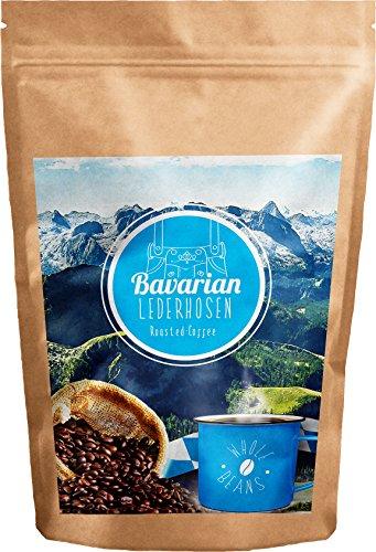 Bavaria Coffee - Bavarian Lederhosen Roasted Coffee - Roasted Coffee Beans (500g (17.6 oz))