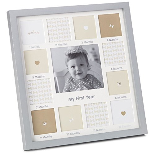 - Hallmark Milestones My First Year Collage Picture Frame