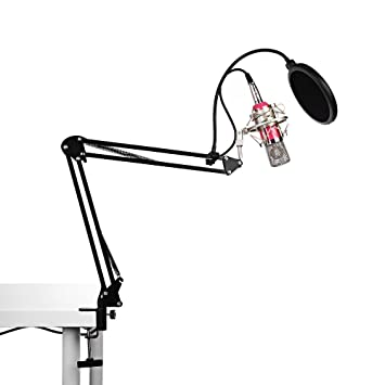 LifePlus professionelle Kondensator-Mikrofon BM-700&Verstellbarem ...