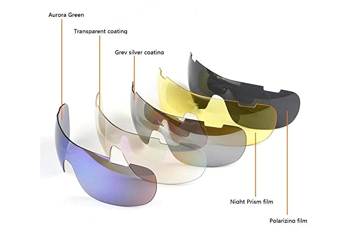 OPEL-R Exterieur cheval demi cadre polarisée lunettes/lunettes de soleil sport, Go vent et sable rayonnement lunettes/Compact, léger, porter une sensation confortable apesanteur , black