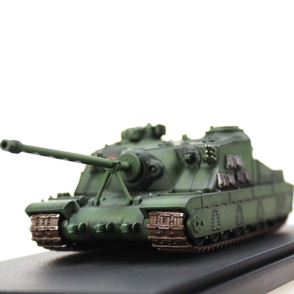 YWJHY Ejército Batalla Principal Tanque Escala Militar A39 Tortoise 1:72 Aleación de Plástico Modelo,como se Muestra,Un tamaño