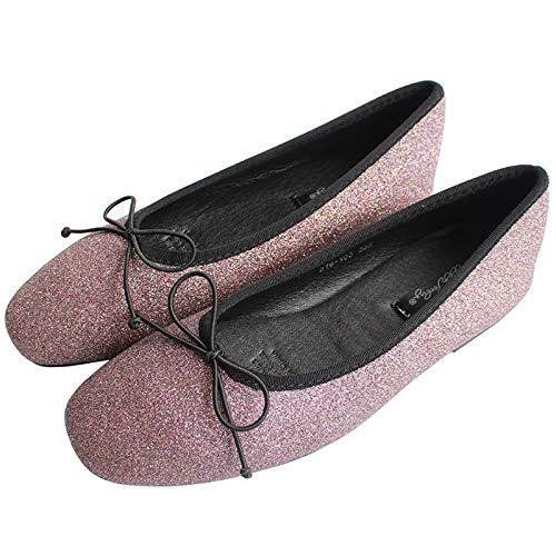 de y Zapatos Boca Mujeres de de Las Ocasionales cómodos Zapatos de la Trabajo Terciopelo Los Suave Baja Calzan del los FLYRCX Planos Ballet satén Parte Zapatos de la A Zapatos Embarazadas Inferior de vaTnR