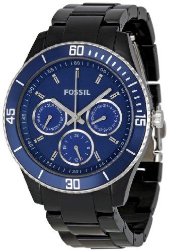 Fossil Women's ES2828 Blue Dial Watch