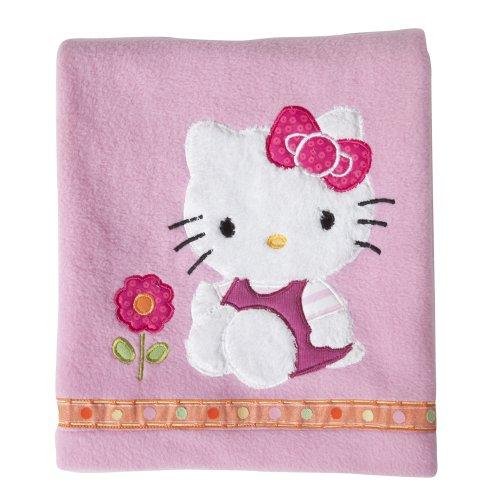 Lambs and Ivy Blanket, Hello Kitty Garden, Baby & Kids Zone