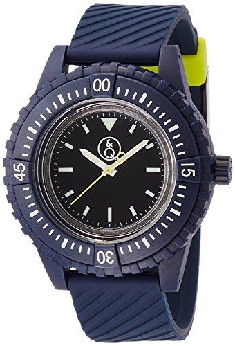 Q & Q SmileSolar watch 20BAR Series Black ~ Navy RP06-004 Men