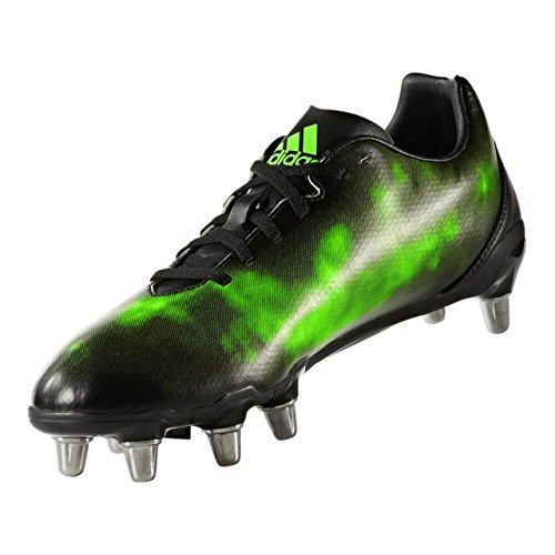 adidas Kakari SG, Chaussures de Rugby Homme - Noir - Nero (Negbas/Plamet/Versol), 48 EU EU