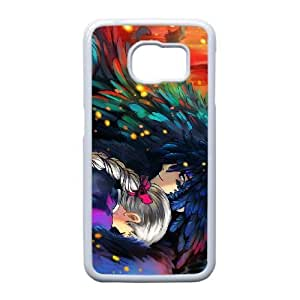 Samsung Galaxy S6 Edge Phone Case White Howl's Moving Castle NLG7848400