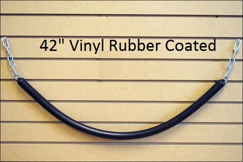Covered Stall Chain (Horse Tack Grooming Stall Barn Guard Rubber Vinyl Chain 42
