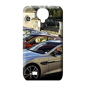samsung galaxy s4 Impact Durable skin phone carrying covers Aston martin Luxury car logo super